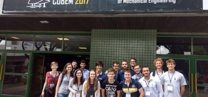 Excursão ao COBEM 2017