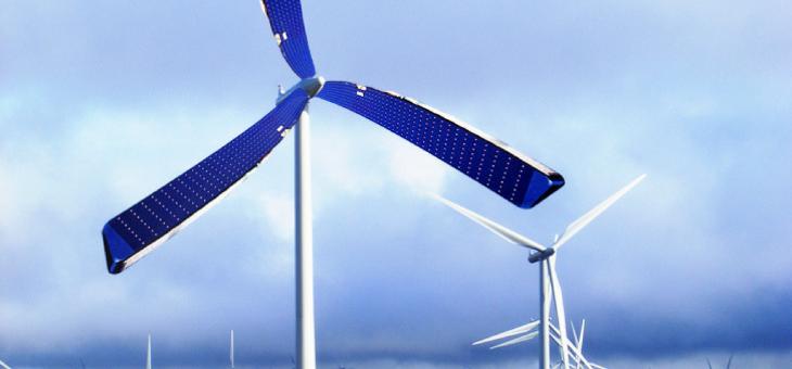 Universidade de Liverpool cria turbina eólica com placas solares